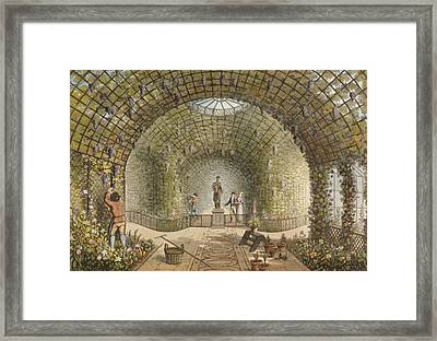 The Vinery Framed Print by Humphry Repton