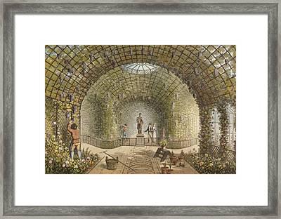 The Vinery Framed Print