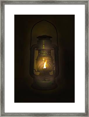 The Vintage Bell Glass  Framed Print
