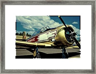 The Vintage North American T-6 Texan Framed Print by David Patterson
