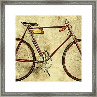 The Vintage Racing Bike Framed Print