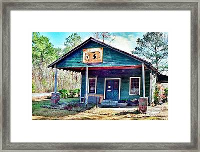The Vintage Shop In Green Pond Framed Print by Patricia Greer