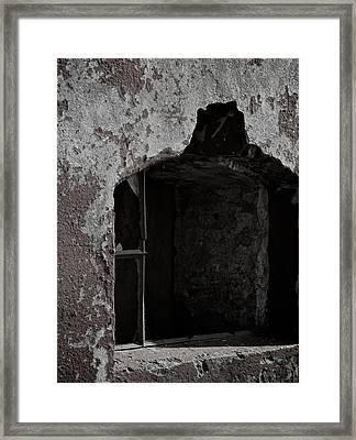 The Violence Of Time Framed Print