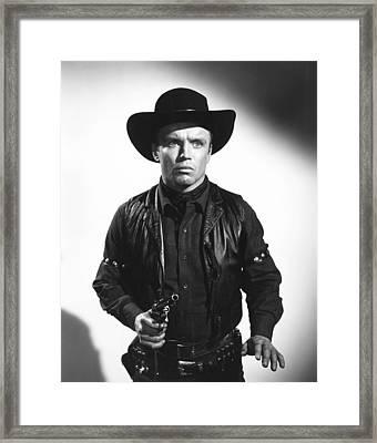 The Violent Men, Richard Jaeckel, 1955 Framed Print