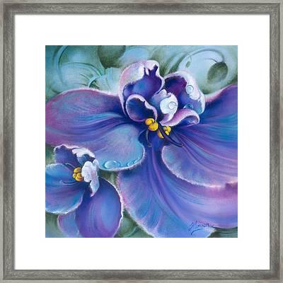 The Violet Framed Print