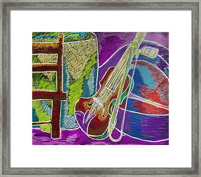 The Violin Framed Print