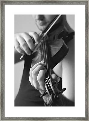 The Violonist Framed Print