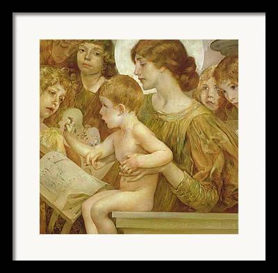 Holy Mother Framed Prints
