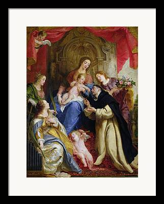 Saint Dominic Framed Prints