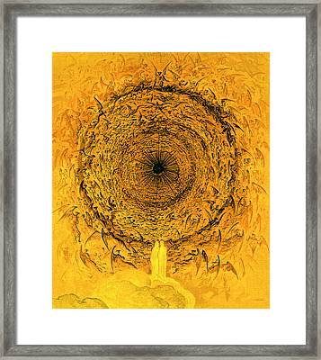 The Vision Of The Empyrean Framed Print