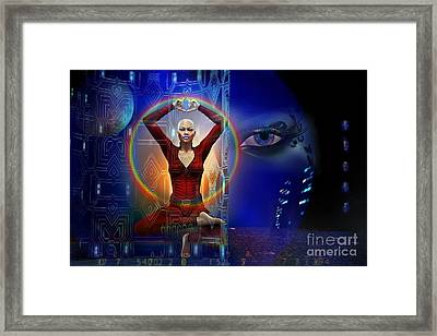 The Vision Framed Print by Shadowlea Is