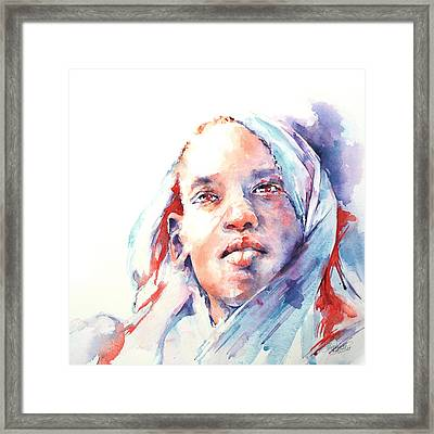 The Visionary Framed Print by Stephie Butler