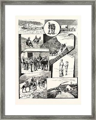 The Visit Of H.e. Sir H. Brougham Loch, K.c.b. Governor Framed Print by Australian School
