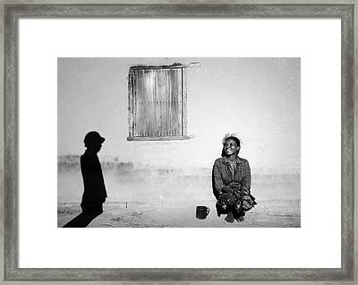 The Visitor Framed Print