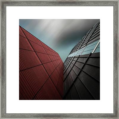 The Visor Framed Print by Gilbert Claes