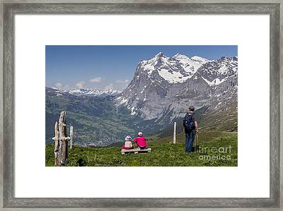 The Vista Framed Print by Ning Mosberger-Tang