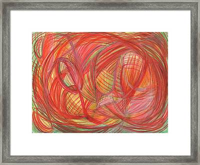 The Voice Of Daring Framed Print