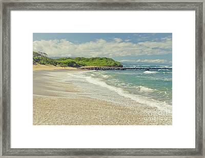 The Voice Of The Sea Framed Print by Sharon Mau