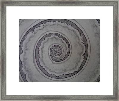 The Void Framed Print by Louis Noonburg
