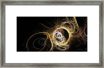 The Vortex Being Framed Print by Richard Pennells