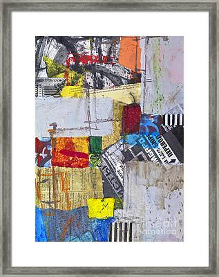 The Voyage Of The Dreamer Framed Print