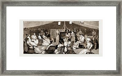 The Voyage Of The Duke And Duchess Of Connaught To India Framed Print