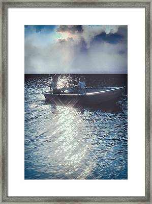 The Voyage Together Framed Print by Kellice Swaggerty