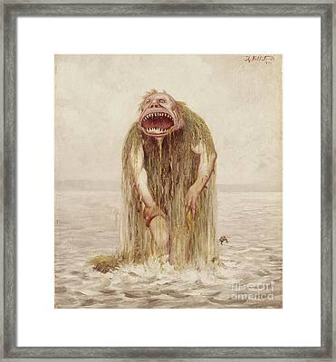 The Wade Troll That Only Lived On Virgin Meat Framed Print
