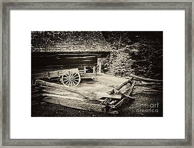 The Wagon Framed Print by Paul W Faust -  Impressions of Light