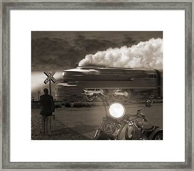 The Wait 2 Framed Print by Mike McGlothlen