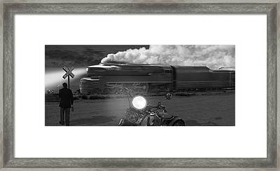 The Wait - Panoramic Framed Print by Mike McGlothlen