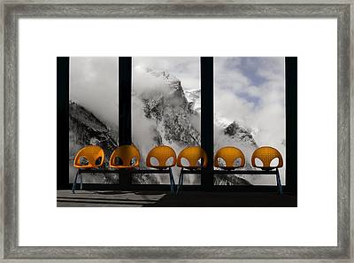 The Waiting Room Of Paradise Framed Print