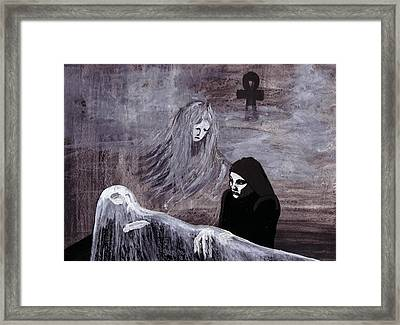 The Wake Framed Print