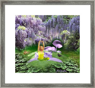 The Wake Up - Fantasy Art By Giada Rossi Framed Print by Giada Rossi