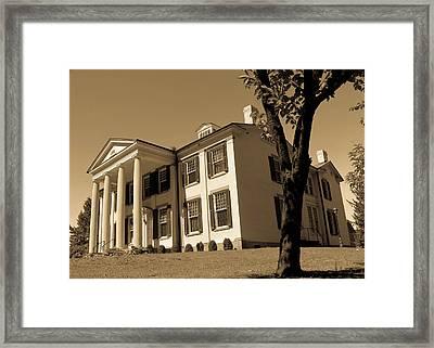 The Waldomore Timeless Series 3 Framed Print by Howard Tenke