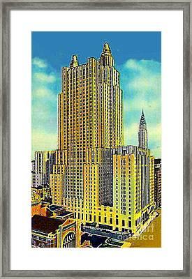 The Waldorf Astoria Hotel Framed Print by Dwight Goss