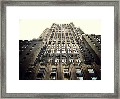 The Waldorf Framed Print