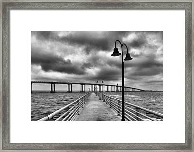 The Walk Framed Print by Dan Sproul