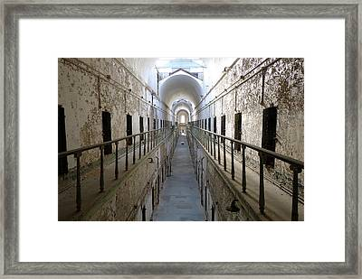Framed Print featuring the photograph The Walk II by Richard Reeve