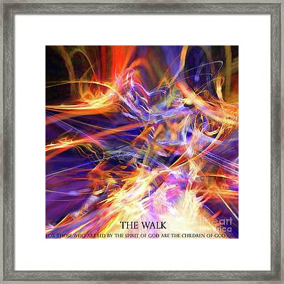 The Walk Framed Print by Margie Chapman