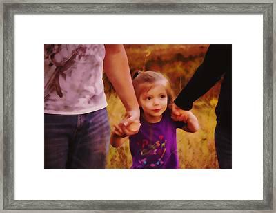 The Walk Framed Print by Michael Murrill