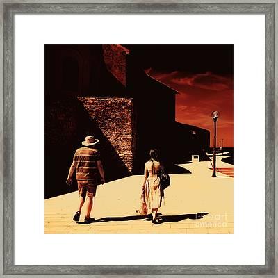 The Walk Framed Print