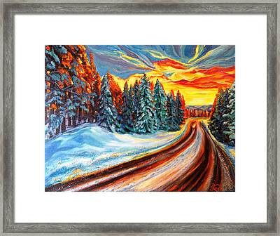 The Walk Framed Print by Suzanne King