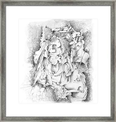 The Wall Framed Print by Bodhi