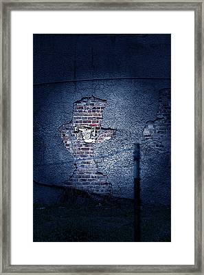 The Wall Pt 1 Framed Print by Trish Mistric