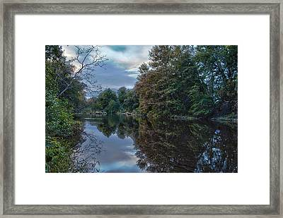 The Wall Framed Print by Ren Alber