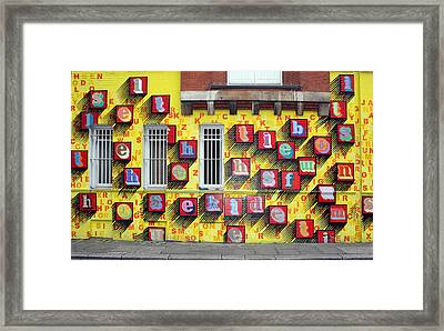 The Wall Framed Print by Stephen Norris