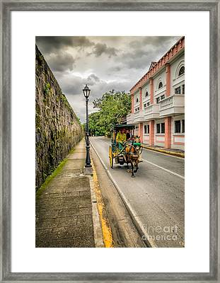 The Walled City Framed Print by Adrian Evans
