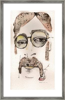 The Walrus As John Lennon Framed Print