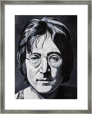 The Walrus Framed Print by Brian Broadway